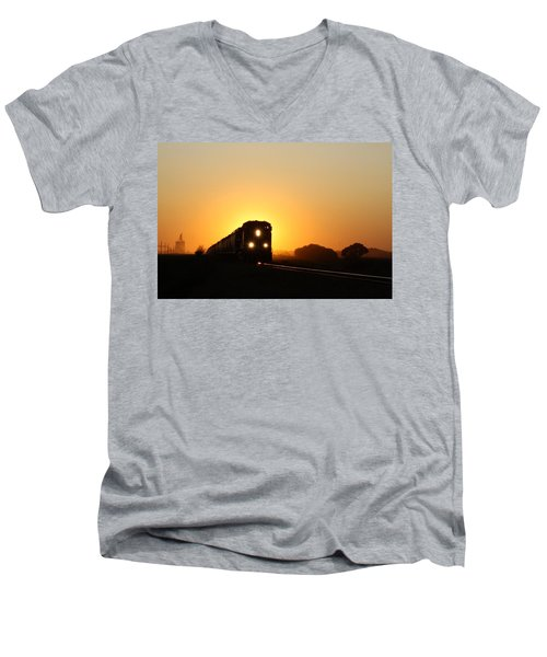 Sunset Express Men's V-Neck T-Shirt