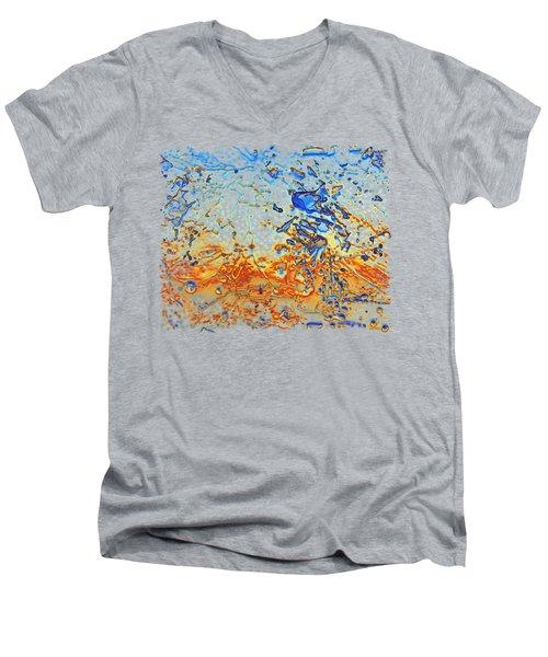 Sunset Walk Men's V-Neck T-Shirt