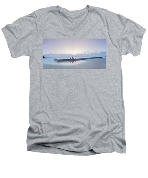 Sunset Wonder.. Men's V-Neck T-Shirt