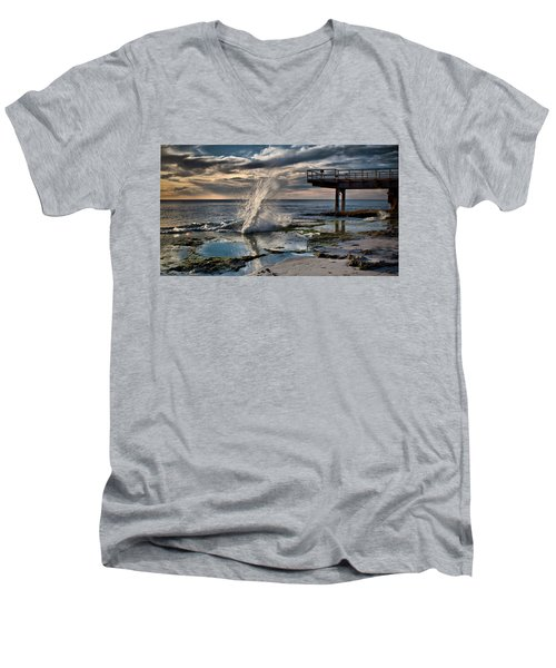 Sunsets Show Men's V-Neck T-Shirt