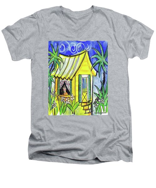 Sunshine Cottage Men's V-Neck T-Shirt
