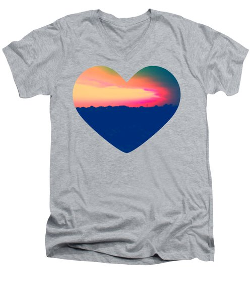 Sunshine In My Heart Men's V-Neck T-Shirt