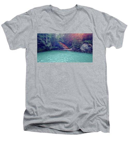 Sunshine Lagoon Men's V-Neck T-Shirt