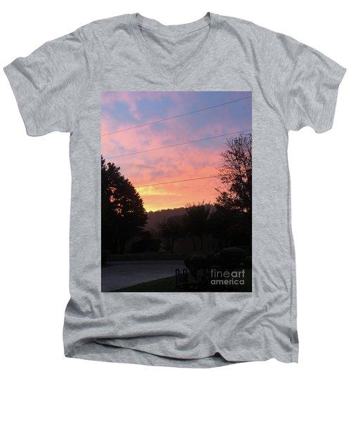 Sunshine Without The Fog Men's V-Neck T-Shirt