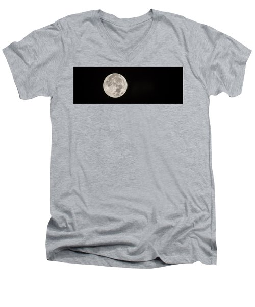 Supermoon Men's V-Neck T-Shirt