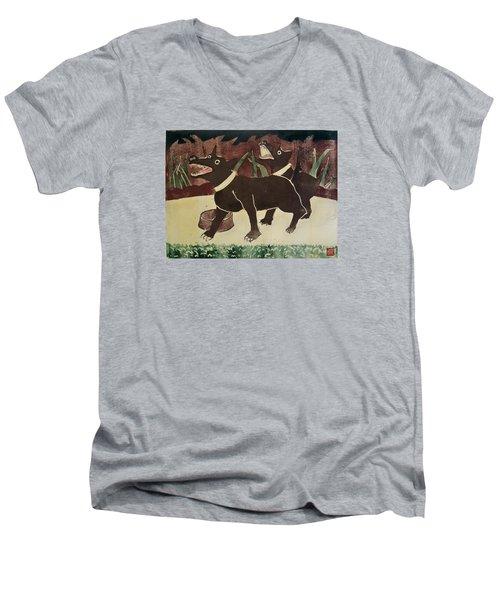 Suppertime Men's V-Neck T-Shirt