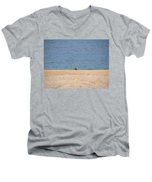 Surf Caster Men's V-Neck T-Shirt