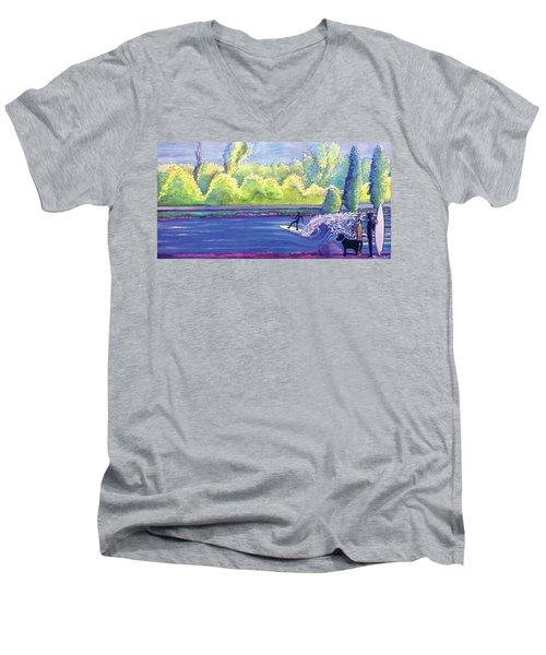 Surf Colorado Men's V-Neck T-Shirt