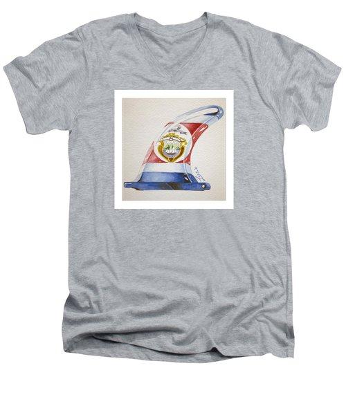 Surf Costa Rica Men's V-Neck T-Shirt by William Love