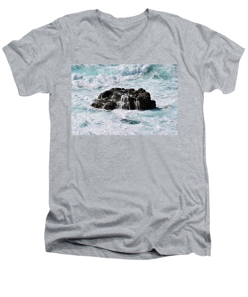 Surf No. 134-1 Men's V-Neck T-Shirt