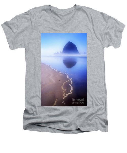 Surf Reflection Men's V-Neck T-Shirt