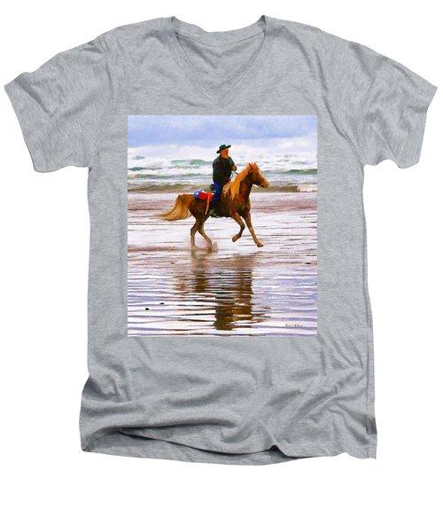 Surf Rider Men's V-Neck T-Shirt