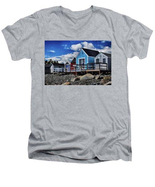 Surf Shacks Men's V-Neck T-Shirt