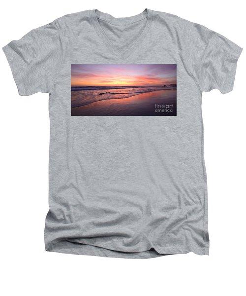 Surfer Afterglow Men's V-Neck T-Shirt