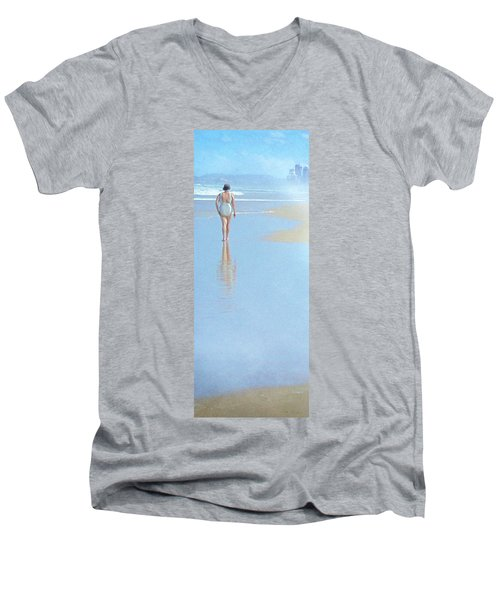 Surfers Paradise Men's V-Neck T-Shirt