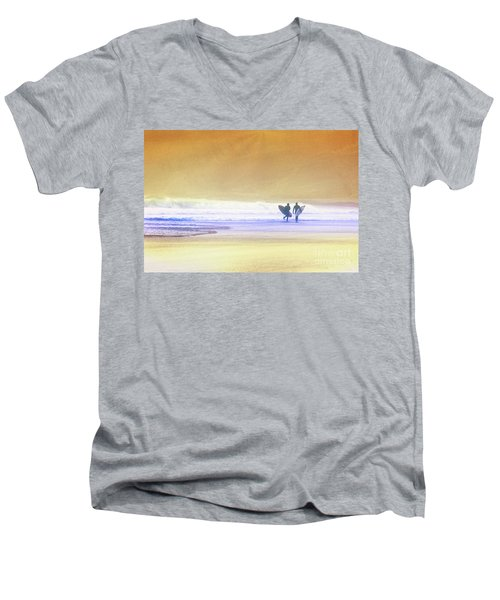 Surfers Men's V-Neck T-Shirt