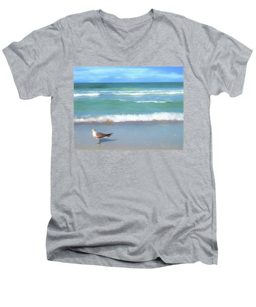 Surfs Up Men's V-Neck T-Shirt