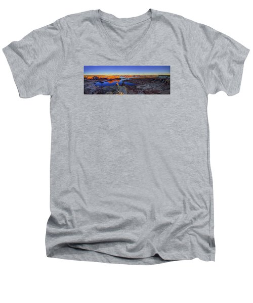 Surreal Alstrom Men's V-Neck T-Shirt by Chad Dutson