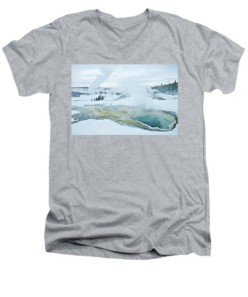 Surreal Landscape Men's V-Neck T-Shirt
