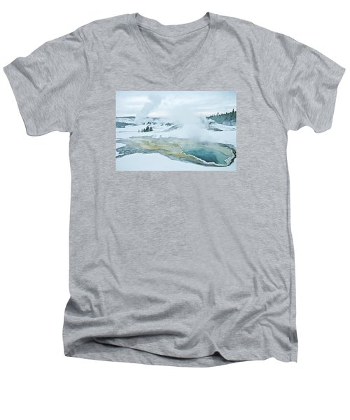 Surreal Landscape Men's V-Neck T-Shirt