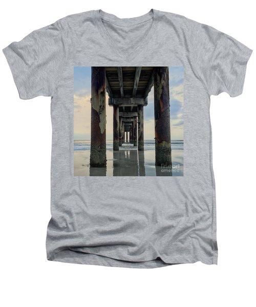 Surreal Sunday Sunrise Men's V-Neck T-Shirt