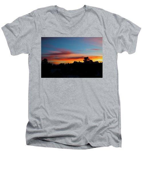 Surreal Sunset Men's V-Neck T-Shirt