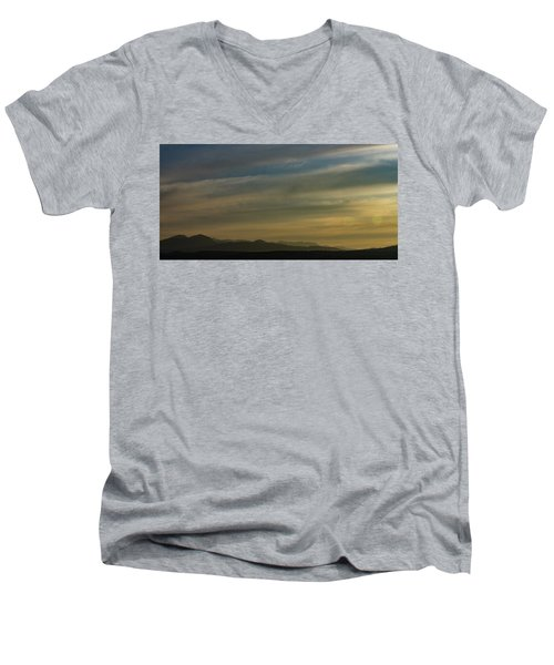 Surreal Sunset Men's V-Neck T-Shirt