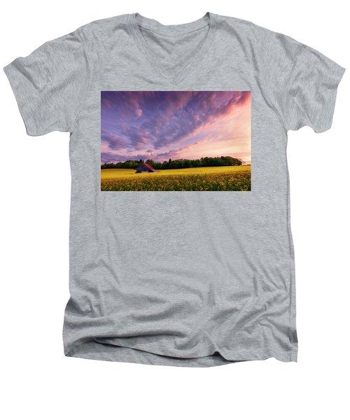 Surrounded Men's V-Neck T-Shirt