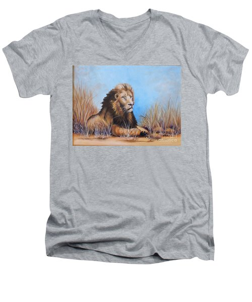 Surveying The Grounds Men's V-Neck T-Shirt