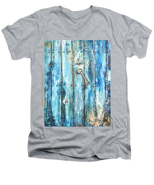Surviving Time Men's V-Neck T-Shirt