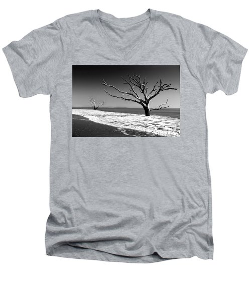 Men's V-Neck T-Shirt featuring the photograph Survivor by Dana DiPasquale