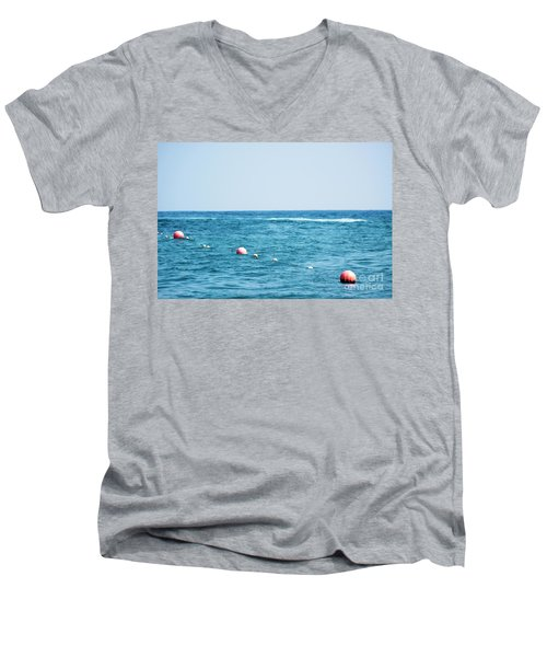 Suspension  Men's V-Neck T-Shirt