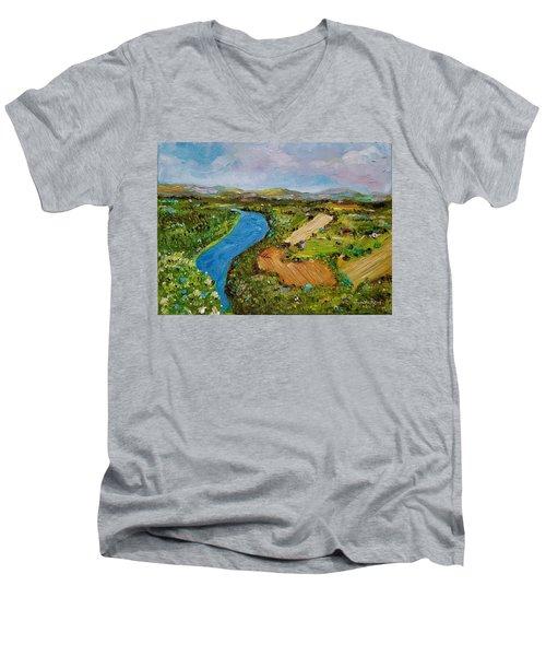 Susquehanna Valley Men's V-Neck T-Shirt