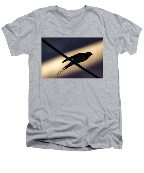 Swallow Speed Men's V-Neck T-Shirt