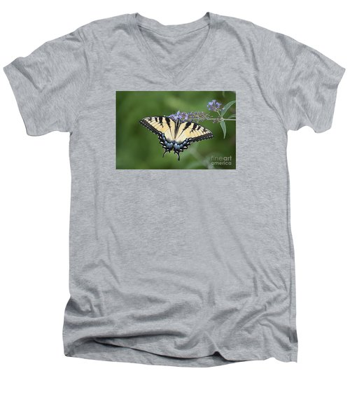 Swallowtail 20120723_24a Men's V-Neck T-Shirt