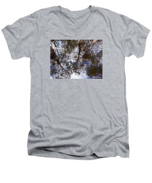 Swamp Mirrored Men's V-Neck T-Shirt