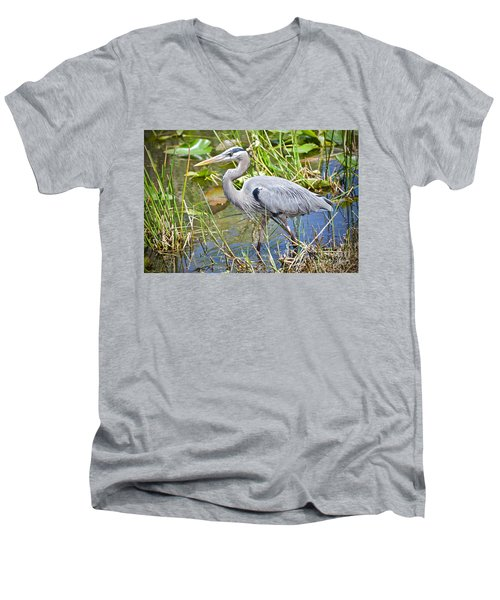 Swamp Stomp Men's V-Neck T-Shirt