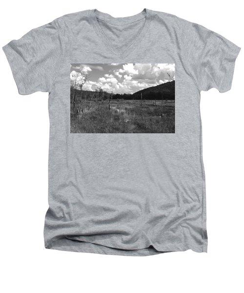Swampoem Men's V-Neck T-Shirt
