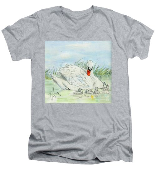 Swan Song Men's V-Neck T-Shirt