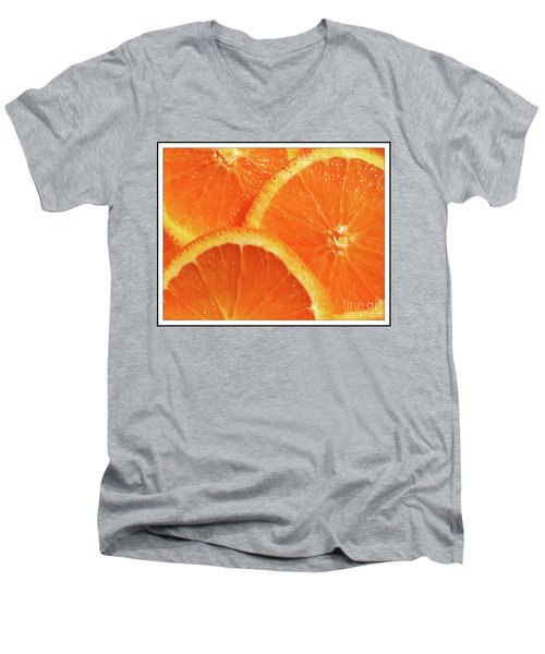 Sweet And Juicy Men's V-Neck T-Shirt