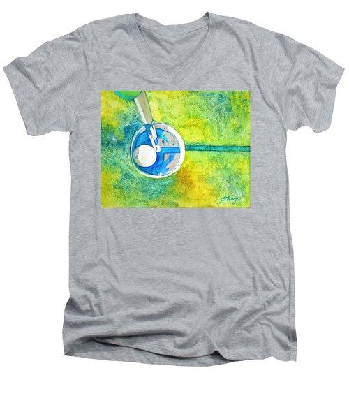 Sweet Anticipation - Golf Series Men's V-Neck T-Shirt