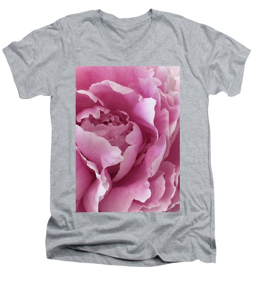 Sweet As Cotton Candy Men's V-Neck T-Shirt by Sherry Hallemeier