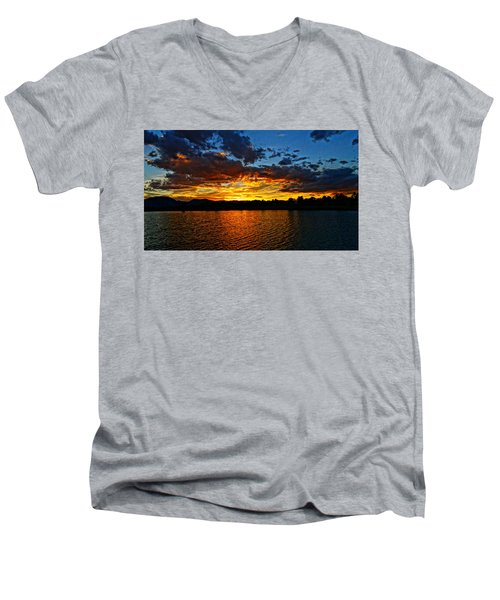 Sweet End Of Day Men's V-Neck T-Shirt