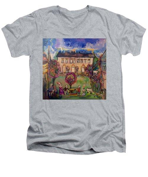 Sweet Georgian Revisited  Men's V-Neck T-Shirt