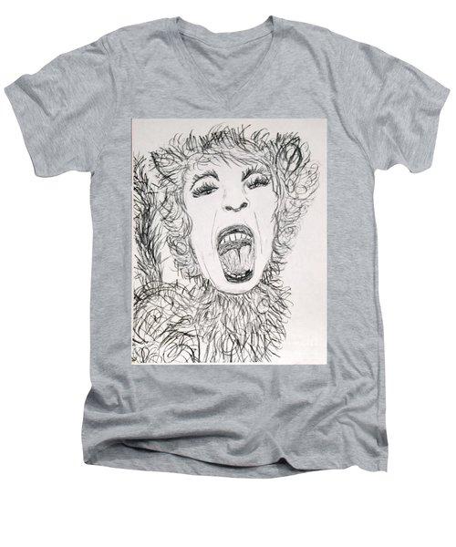Sweet Kitty Men's V-Neck T-Shirt