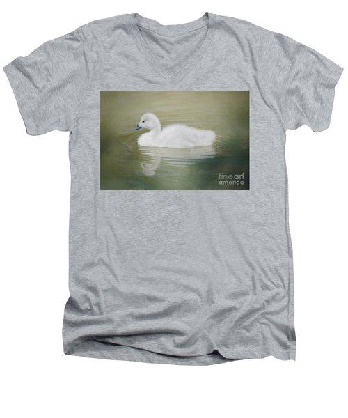 Sweet Little Gosling Men's V-Neck T-Shirt