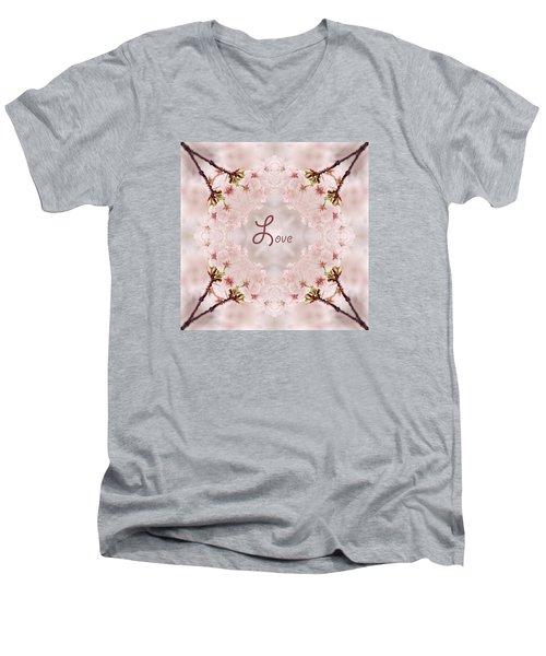 Sweet Love Men's V-Neck T-Shirt