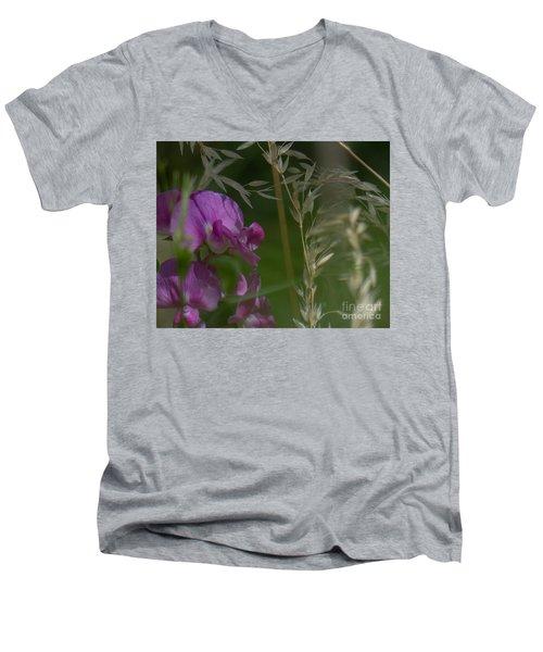 Sweet Pea 1 Men's V-Neck T-Shirt