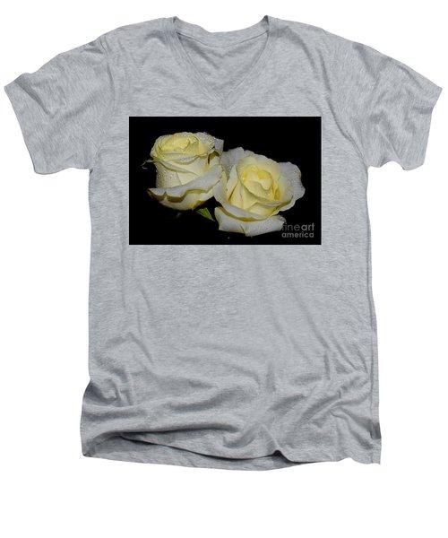 Friendship Roses Men's V-Neck T-Shirt