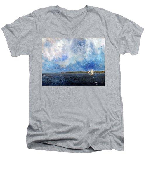 Windward Passage Men's V-Neck T-Shirt